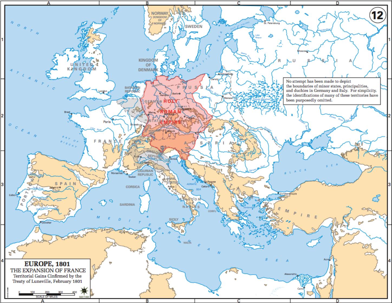 3.Situation stratégique de l'Europe en 1801