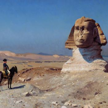 BC2E- Napoléon devant le Sphinx