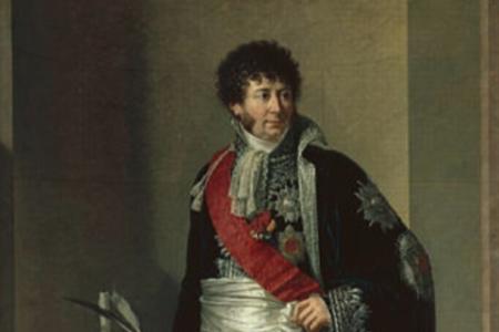 CLARKE - Henri-Jacques-Guillaume Clarke - Comte d'Hunebourg et duc de Feltre - Maréchal de France - Ministre de la Guerre - François-Xavier Fabre, 1810 - Musée des Beaux-arts de Nantes