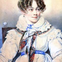 PP*V- Sophie de Segur-1823-Orest Kiprensky