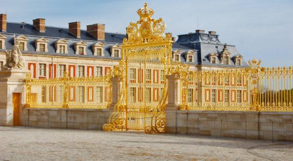 Golden gate du château de Versailles, France - 9136725_xl