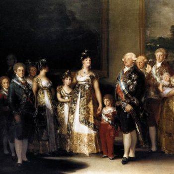 FA20V- Famille Royale espagnole-Charles IV