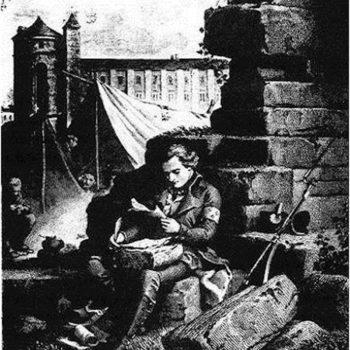PP1V- Chateaubriand - Chateaubriand dans l'armée de Condé - 1830 - Guy de Rambaud scan - Mémoires d'Outre-Tombe, by François-René Chateaubriand - copie